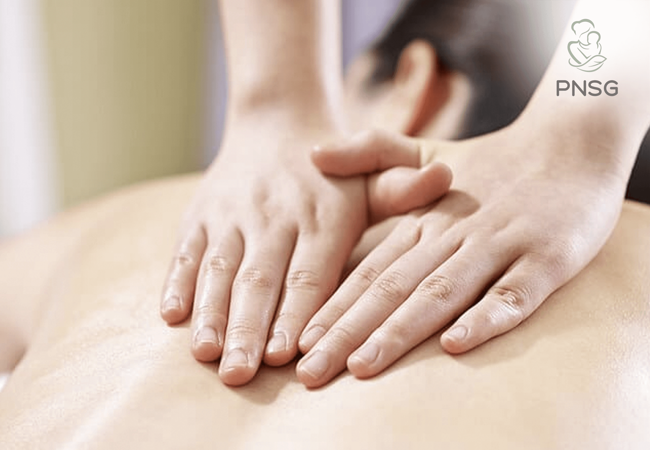 post-delivery body massage
